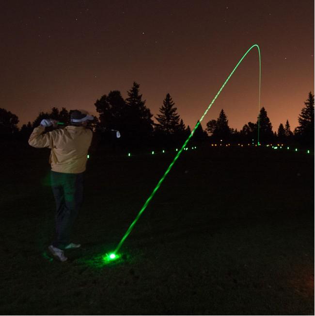 LED高爾夫球