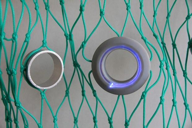 漁網上的LED燈