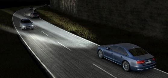 智慧LED車頭燈