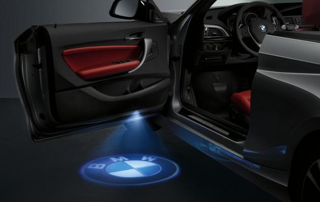 BMW新款敞篷車 LED投影燈
