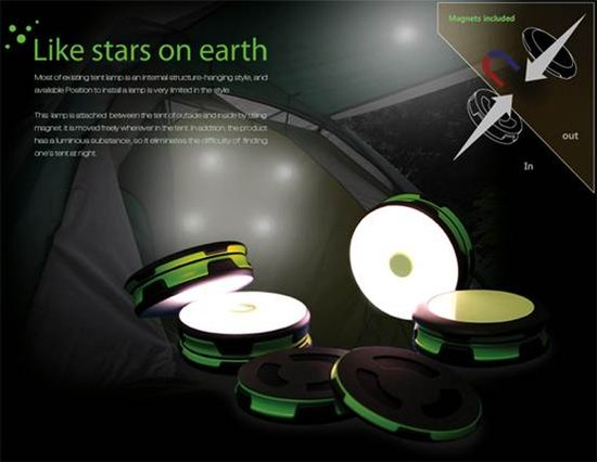 概念露營LED燈Like Stars on Earth