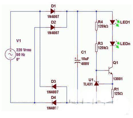 科普:分析led电源次级恒流的经典电路