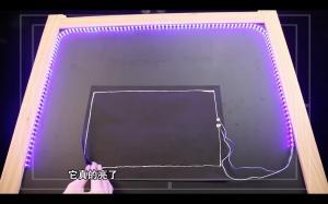 紙上電路圖竟能點亮LED燈