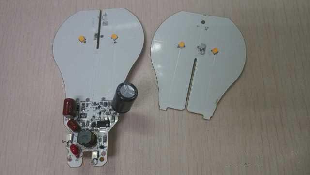 拆解CREE的LED燈泡