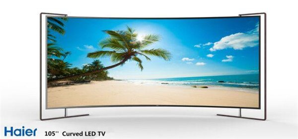 LED曲面電視