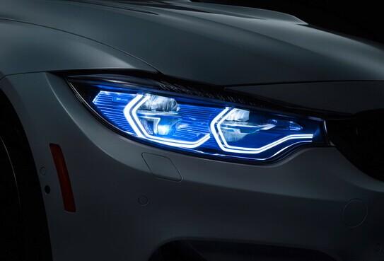 BMW新技術:雷射照明