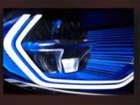BMW 車燈照明