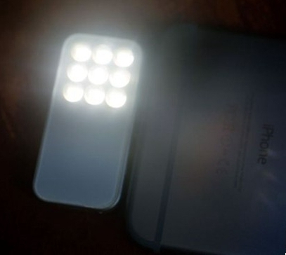 iphone外接閃光燈