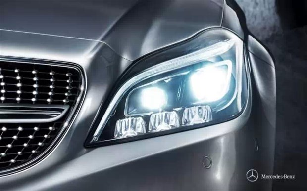 賓士新一代CLS級運動轎車 24顆LED燈擴展智慧照明功能