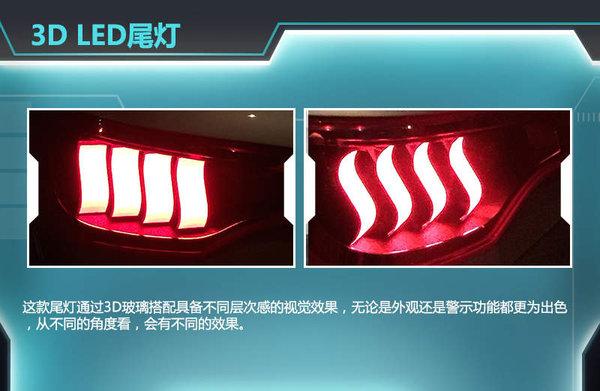 3D LED尾燈