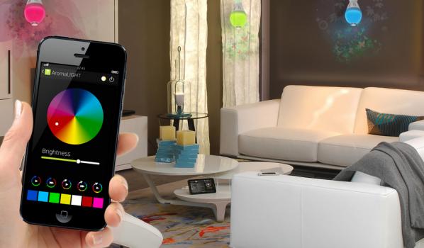 Awox Aromalight Color 燈泡 app