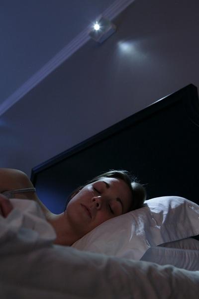 LED燈光將人喚醒