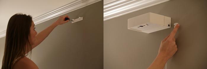 安裝簡便,可額外透過電線充電