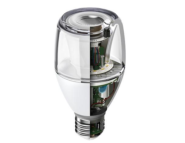 索尼(Sony)新推出一款結合藍牙無線喇叭的智慧型 LED球泡燈