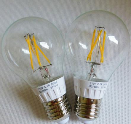 台灣大廠晶電 Epistar 的客戶 LED 燈絲燈泡產品