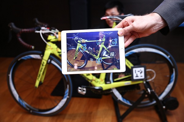 Digital Twin即時讀取ThingWorx平台,讓測試端能夠密切觀察受測物體。