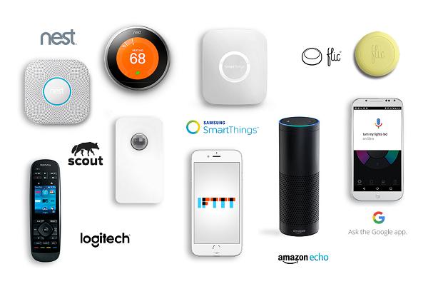 Amazon echo 扮演的是像Siri一樣的角色,讓使用者能夠透過聲控下指令,改變燈光顏色或開關燈。
