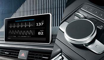 車內系統可偵測駕駛人的健康狀態