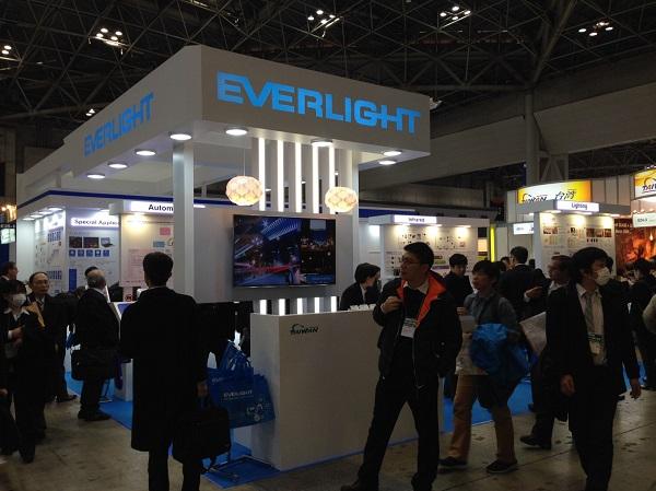 億光於Nepcon Japan展覽照片