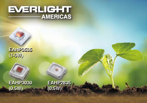 億光全系列農業LED機種 滿足各種動植物生長需求