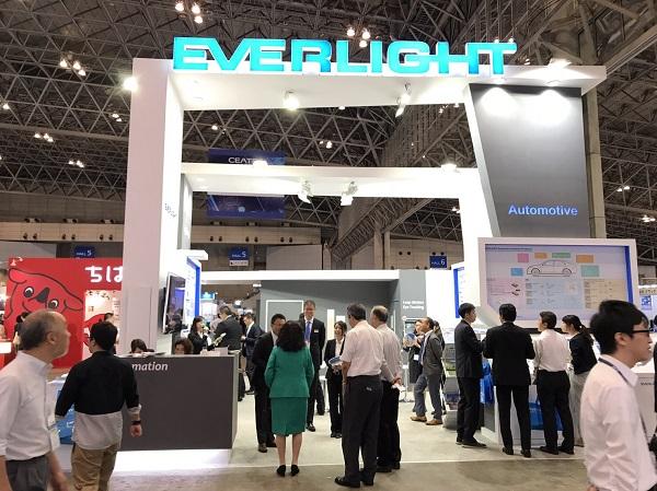 億光首度參加日本CEATEC電子展