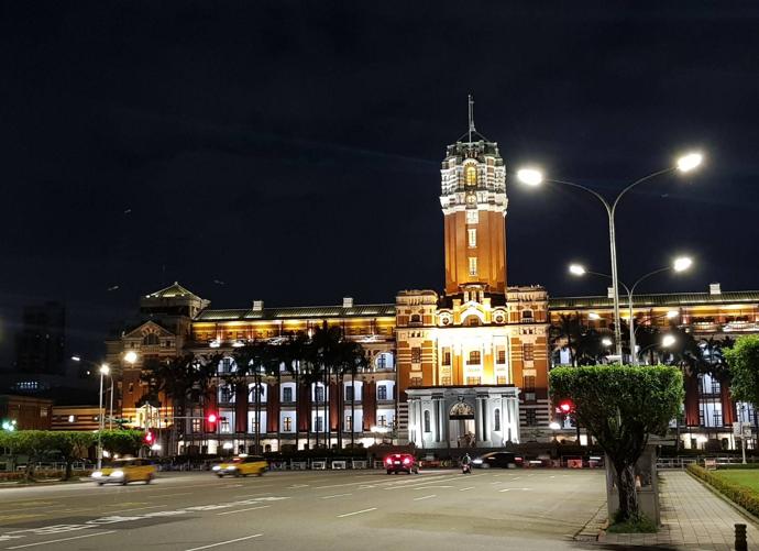 總統府夜景